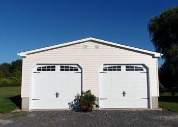 Knee Wall Garage Exterior