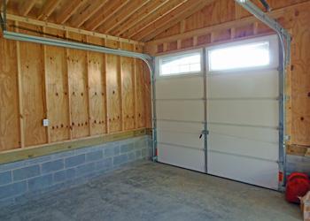 Knee Wall Garage Door