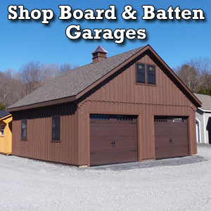 Shop Board & Batten Garages
