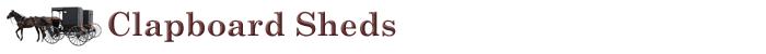 Clapboard Sheds