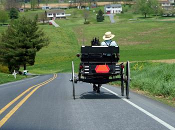 Amish Traveling