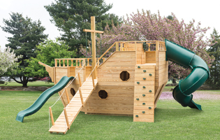 Quality Hillside Playsets