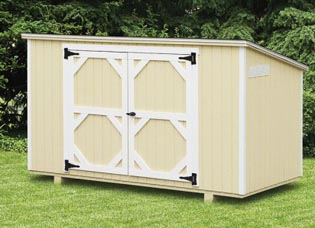 LP SmartSide Utility Shed